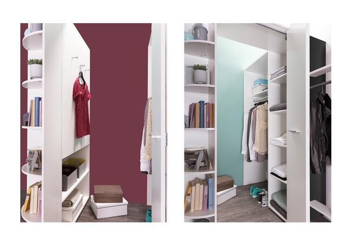 jugendzimmer set joker begehbarer eckschrank alpinwei anthrazit bett 90x200 eur 589 95. Black Bedroom Furniture Sets. Home Design Ideas