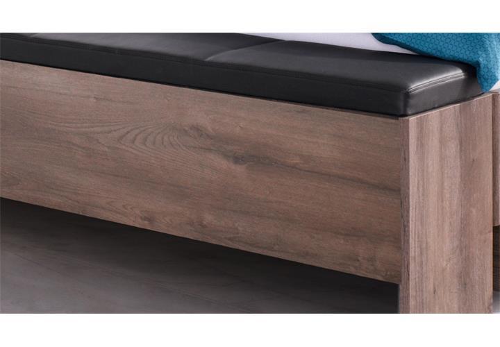 betttruhe virgo sitzbank bettbank in schlammeiche mit. Black Bedroom Furniture Sets. Home Design Ideas