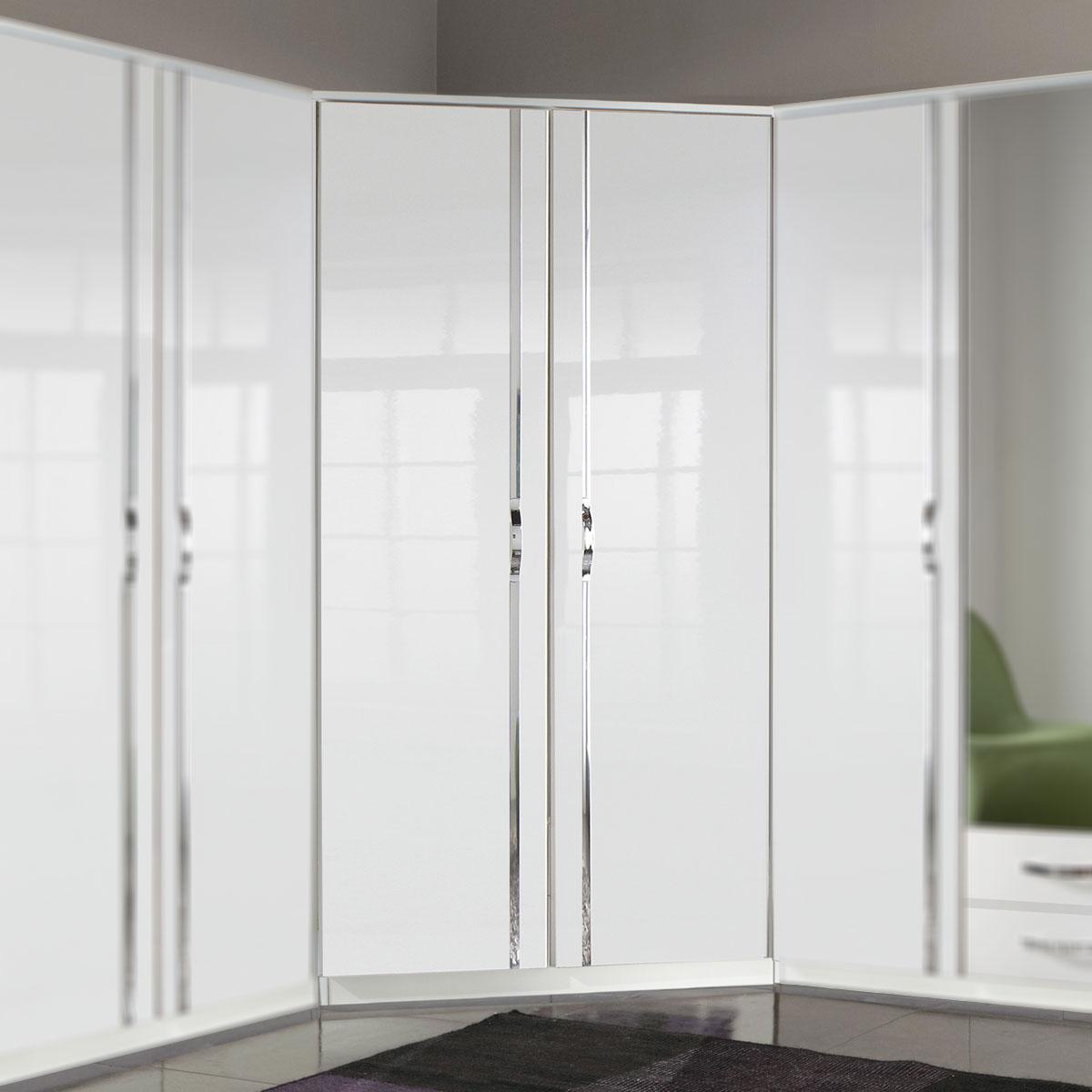 kleiderschrank trio schrank dreht renschrank wei oder. Black Bedroom Furniture Sets. Home Design Ideas