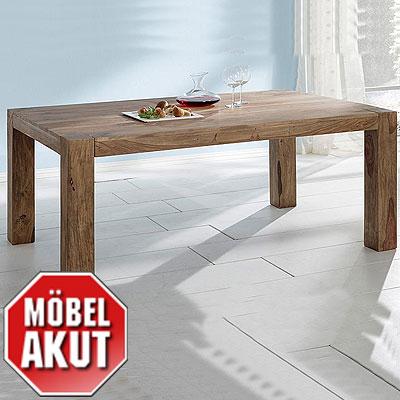 esstisch khan tisch voll massiv b 200 300 cm neu ebay. Black Bedroom Furniture Sets. Home Design Ideas