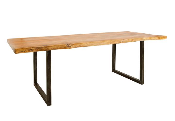 esstisch guru live edge 6714 i baumkante massivholz akazie. Black Bedroom Furniture Sets. Home Design Ideas