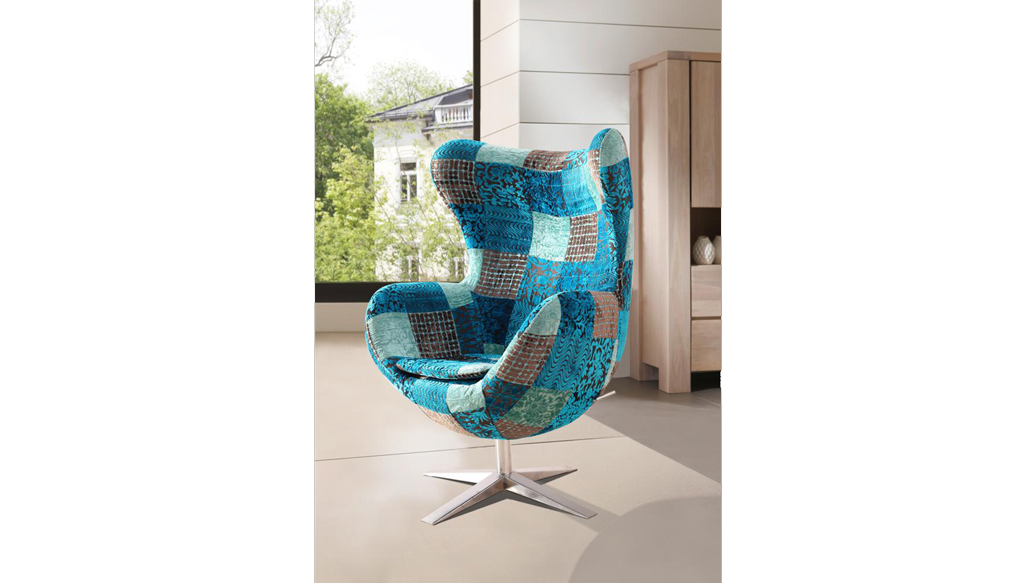 Ohrensessel lax drehsessel egg chair stuhl lax mix colour for Ohrensessel taby