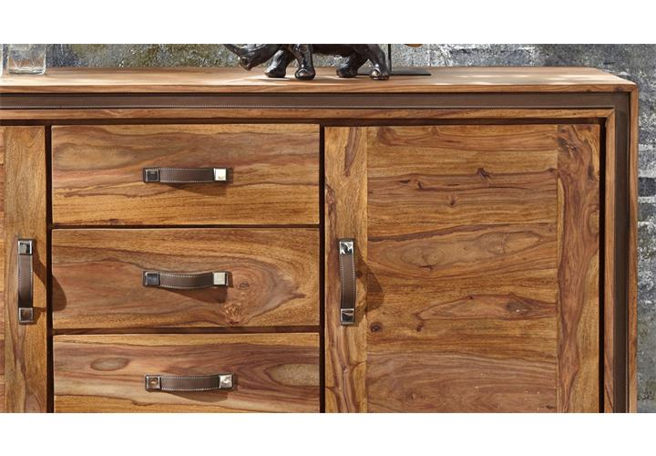 kommode shan 6300 shina aus sheesham massivholz sideboard von wolf m bel eur 799 95 picclick de. Black Bedroom Furniture Sets. Home Design Ideas