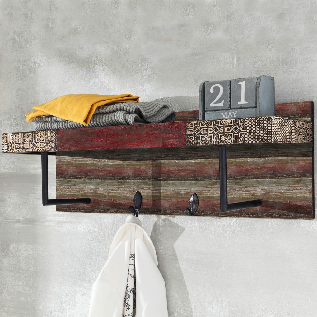 garderobe goa red 3541 hi mit kleiderhaken und hutablage. Black Bedroom Furniture Sets. Home Design Ideas