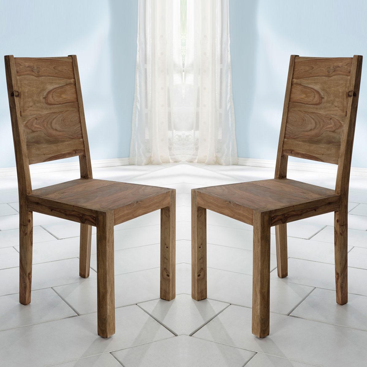 stuhl yoga 2er set sheesham massivholz esszimmerstuhl von. Black Bedroom Furniture Sets. Home Design Ideas