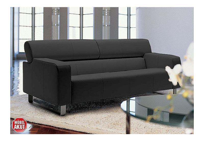 ak 422 sofa aus dem hause rolf benz in nappa leder ebay. Black Bedroom Furniture Sets. Home Design Ideas