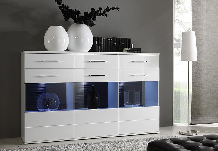 Wohnzimmer Schrankwand Weiß: Moderne schrankwände möbelstück für ...