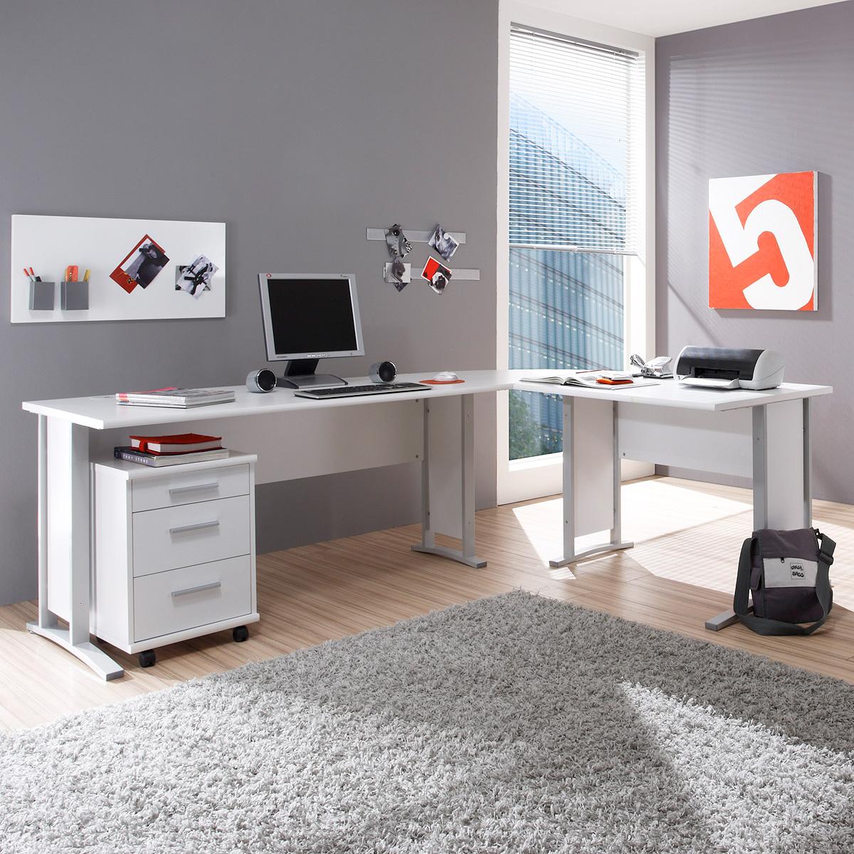 winkelschreibtisch office line biz schreibtisch b ro. Black Bedroom Furniture Sets. Home Design Ideas