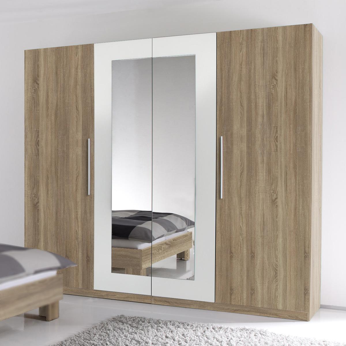 kleiderschrank martina schrank sonoma eiche s gerau und. Black Bedroom Furniture Sets. Home Design Ideas