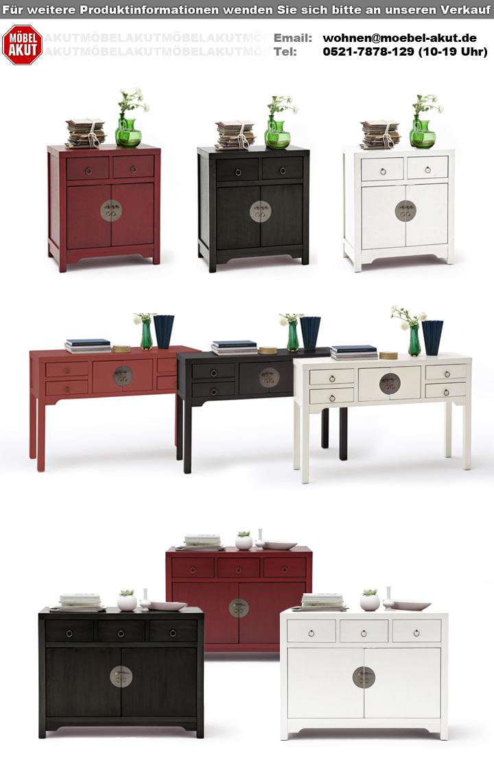 konsole lin aufbewahrung kommode tisch mit schubk sten asiatischer stil ebay. Black Bedroom Furniture Sets. Home Design Ideas