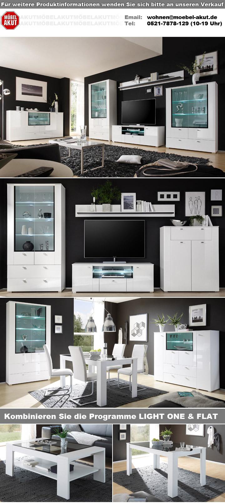 wandboard light one wandregal wei dekor und schwarz. Black Bedroom Furniture Sets. Home Design Ideas